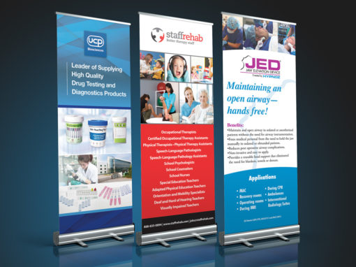 Trade Show Retractable Banners SkyDrivenMediacom - Retractable banner template
